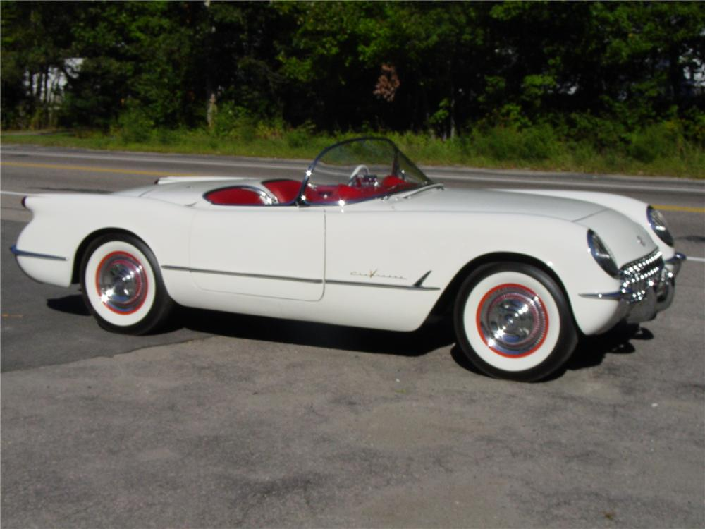 1955 chevrolet corvette convertible 43820. Black Bedroom Furniture Sets. Home Design Ideas