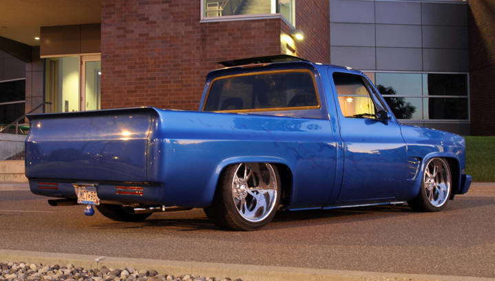1981 CHEVROLET CUSTOM DELUXE PICKUP - Rear 3/4 - 43825