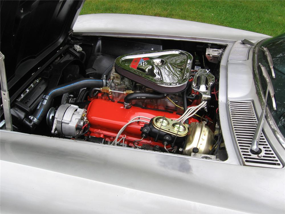 1967 CHEVROLET CORVETTE 427/400 CONVERTIBLE - Engine - 43826