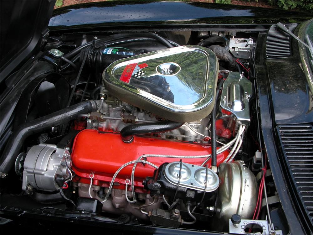 1967 CHEVROLET CORVETTE 427/400 CONVERTIBLE - Engine - 43829