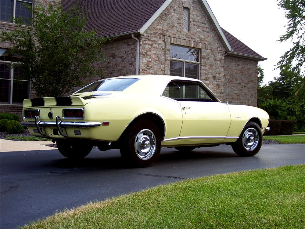 1968 CHEVROLET CAMARO Z/28 RS COUPE - Rear 3/4 - 43834