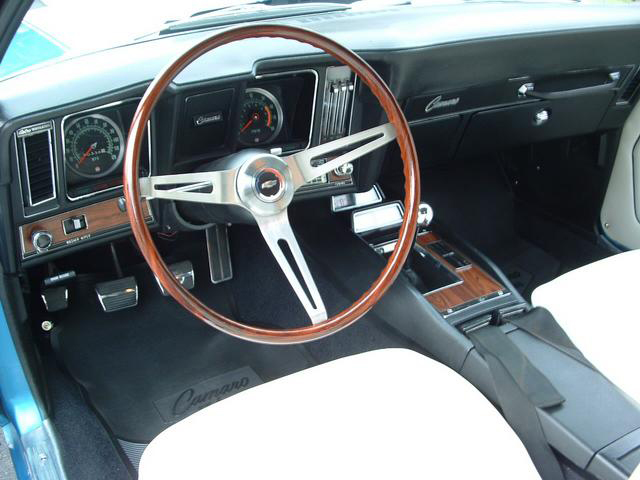 1969 CHEVROLET CAMARO Z/28 COUPE - Interior - 43841
