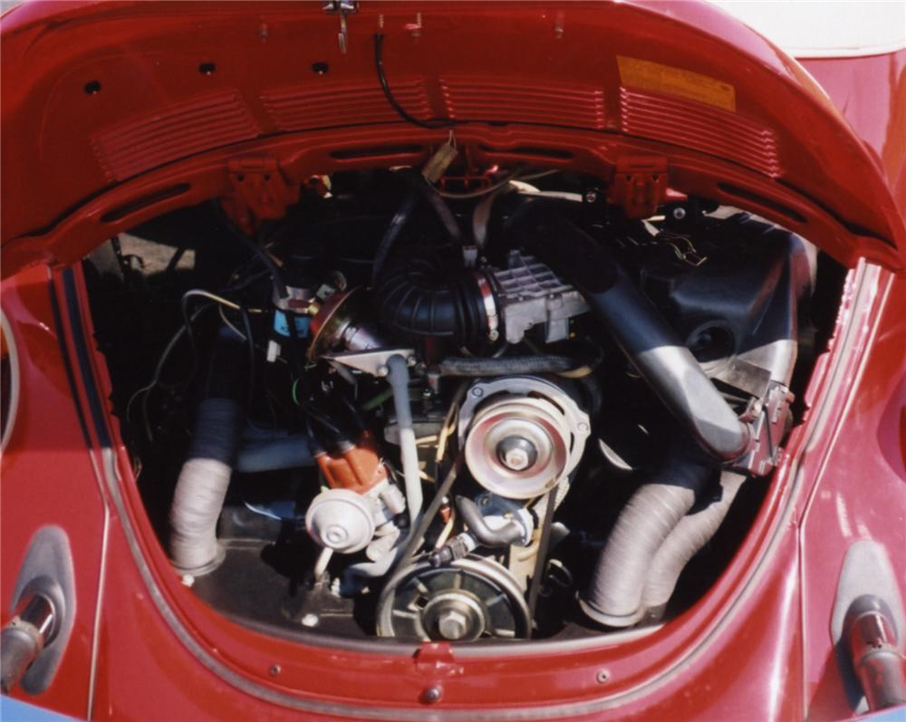 1979 VOLKSWAGEN BEETLE CONVERTIBLE - Engine - 43854