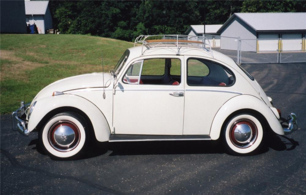 1961 VOLKSWAGEN BEETLE COUPE - Side Profile - 43855