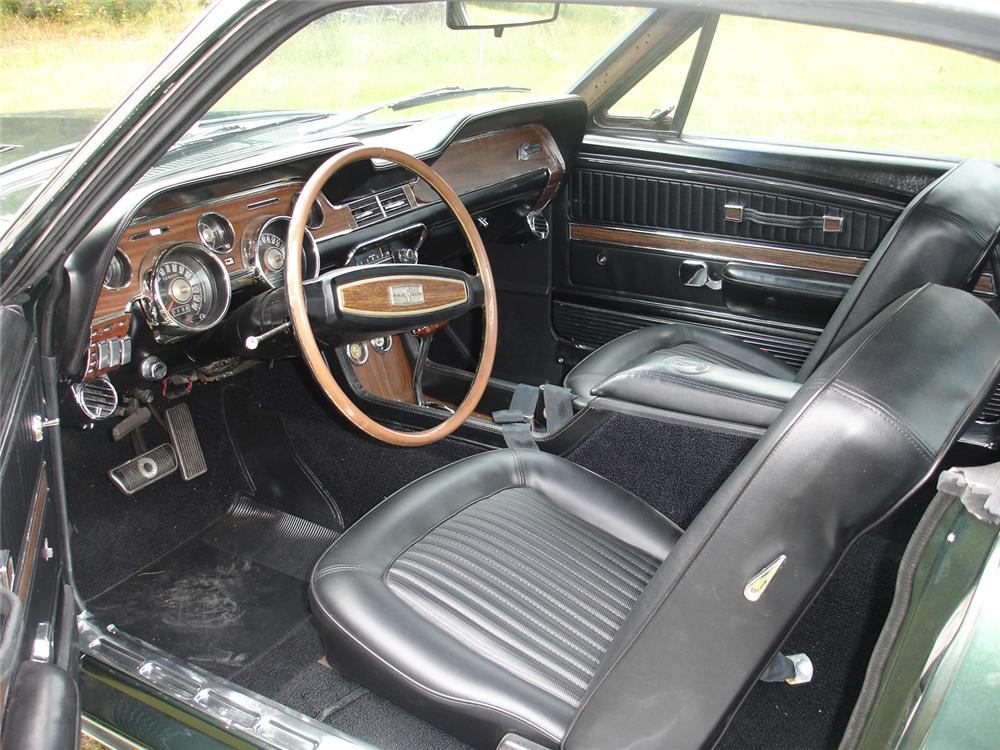 1968 SHELBY GT350 FASTBACK - Interior - 43861