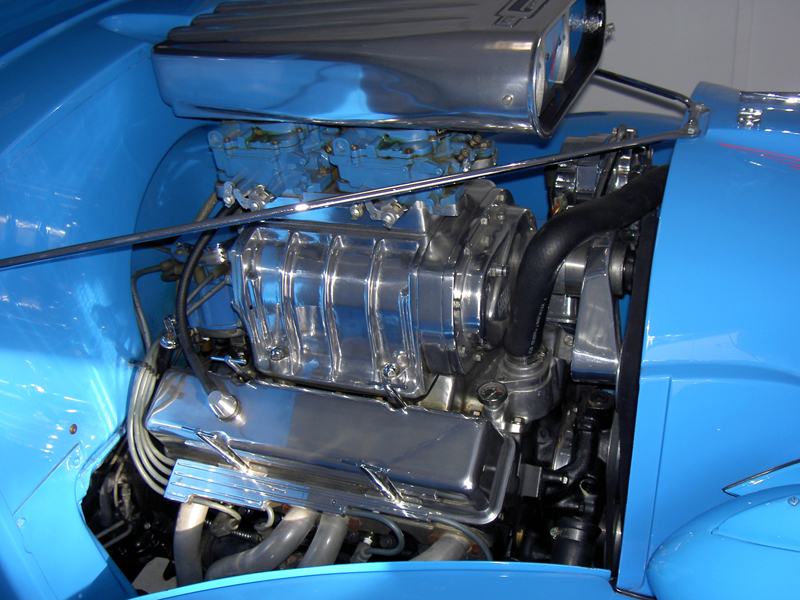 1937 CHEVROLET MASTER CUSTOM PICKUP - Engine - 43864