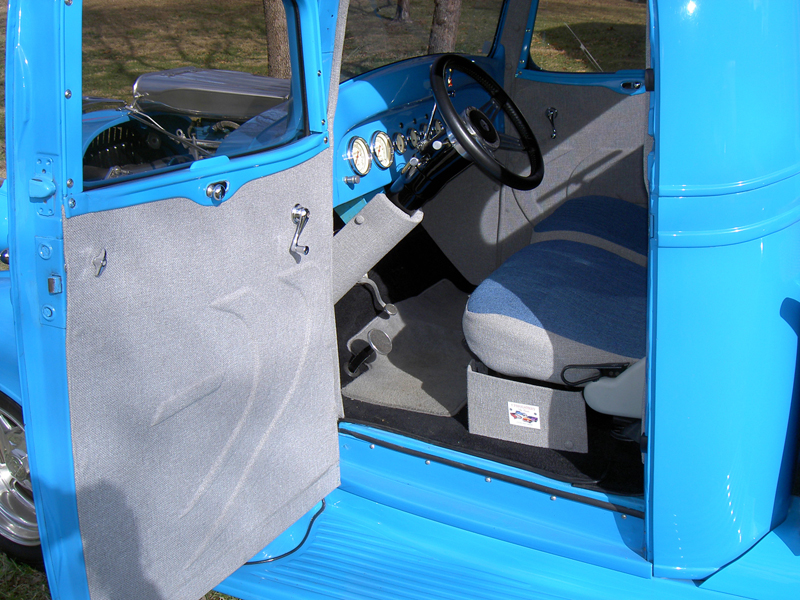 1937 CHEVROLET MASTER CUSTOM PICKUP - Interior - 43864