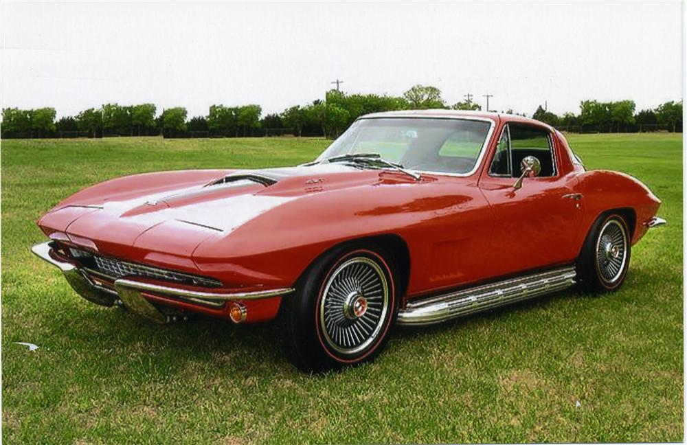 1967 chevrolet corvette 427 435 coupe 43865. Black Bedroom Furniture Sets. Home Design Ideas