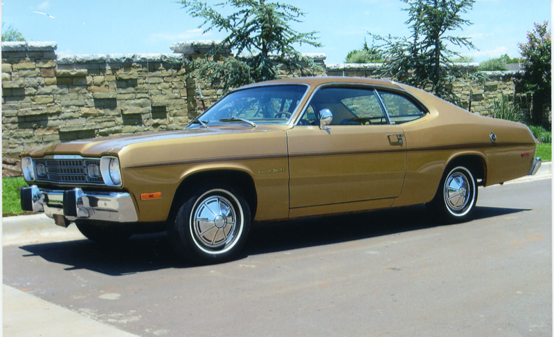 1974 Plymouth Duster 2 Door Hardtop 43868