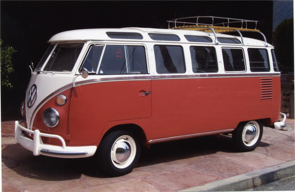 1962 VOLKSWAGEN 23 WINDOW BUS - Front 3/4 - 43879