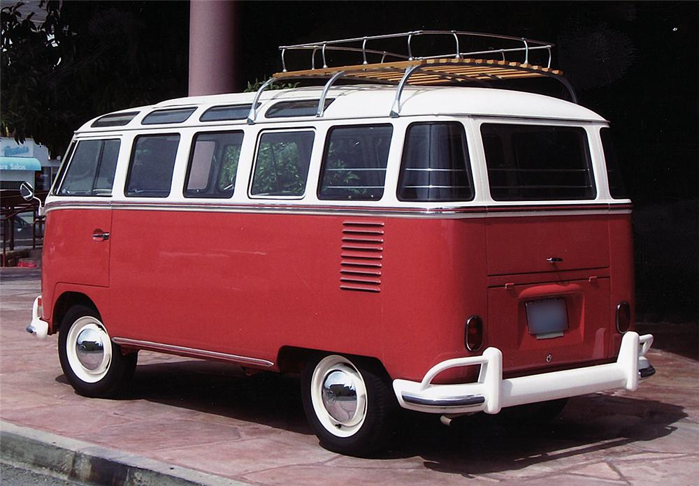 1962 VOLKSWAGEN 23 WINDOW BUS - Rear 3/4 - 43879
