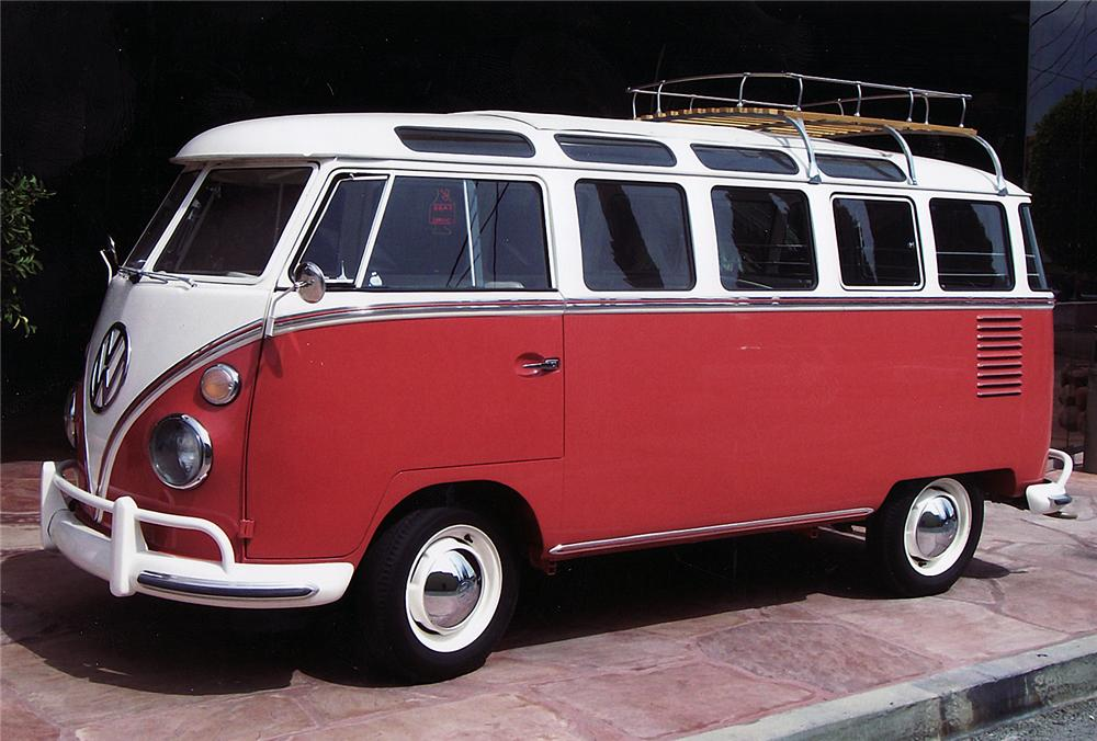 1962 VOLKSWAGEN 23 WINDOW BUS - Side Profile - 43879