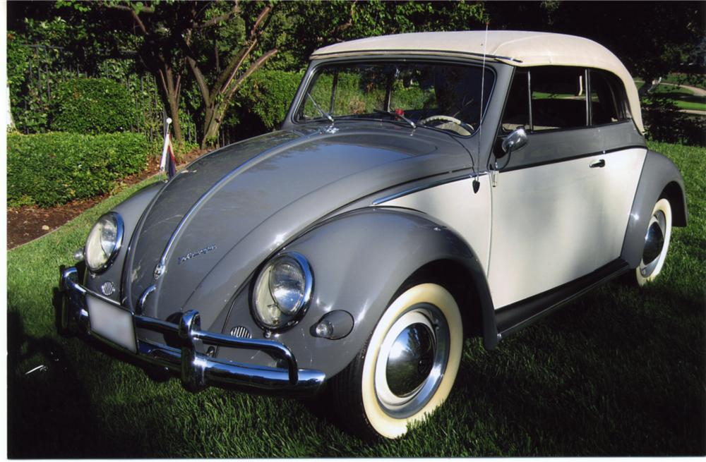 1957 volkswagen beetle convertible 43882. Black Bedroom Furniture Sets. Home Design Ideas