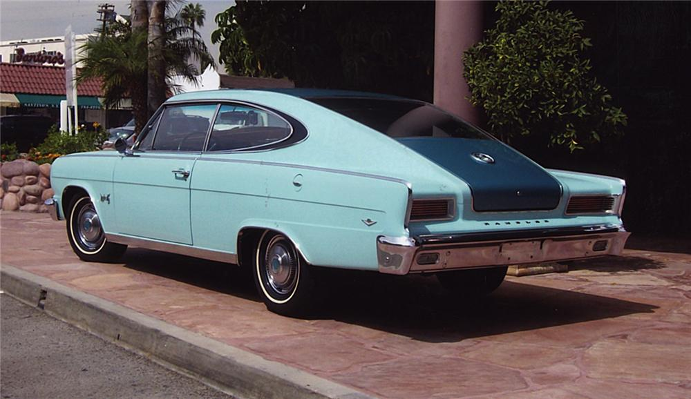 1965 RAMBLER MARLIN COUPE - Rear 3/4 - 43883