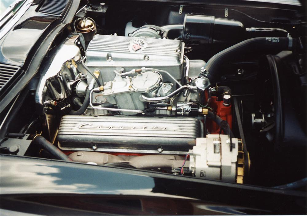 1963 CHEVROLET CORVETTE FI CONVERTIBLE - Engine - 43893