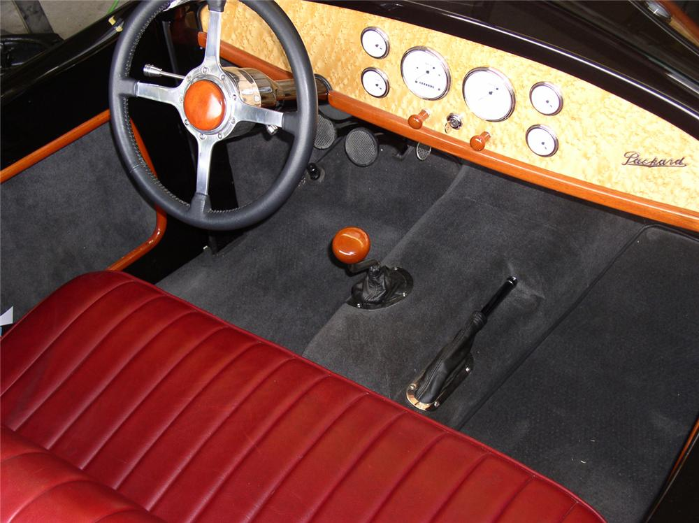 1926 PACKARD CUSTOM BOATTAIL SPEEDSTER - Interior - 43897