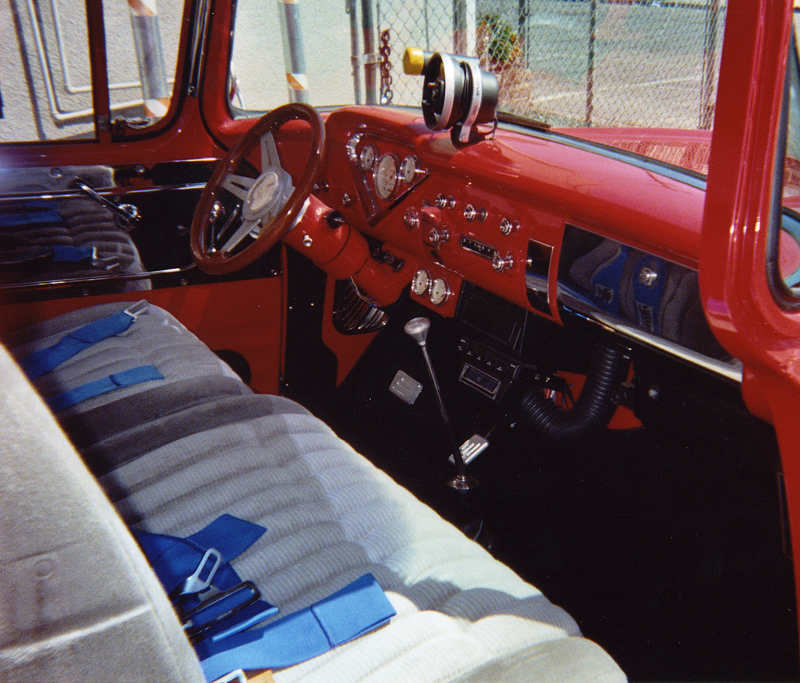 1957 CHEVROLET C-10 STEP-SIDE PICKUP - Interior - 43902