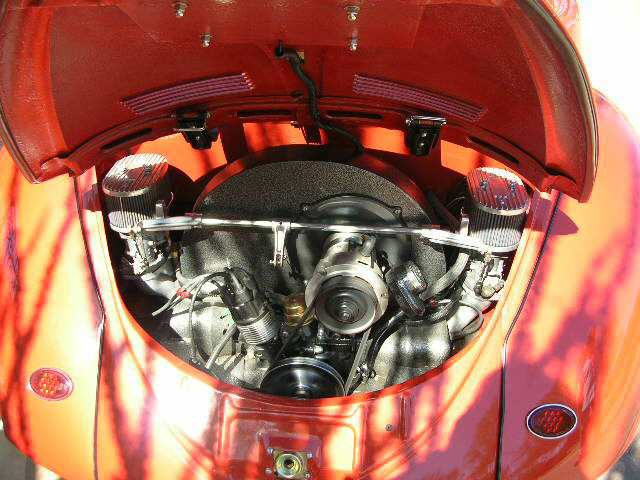 1967 VOLKSWAGEN BEETLE CUSTOM CABRIOLET - Engine - 43904