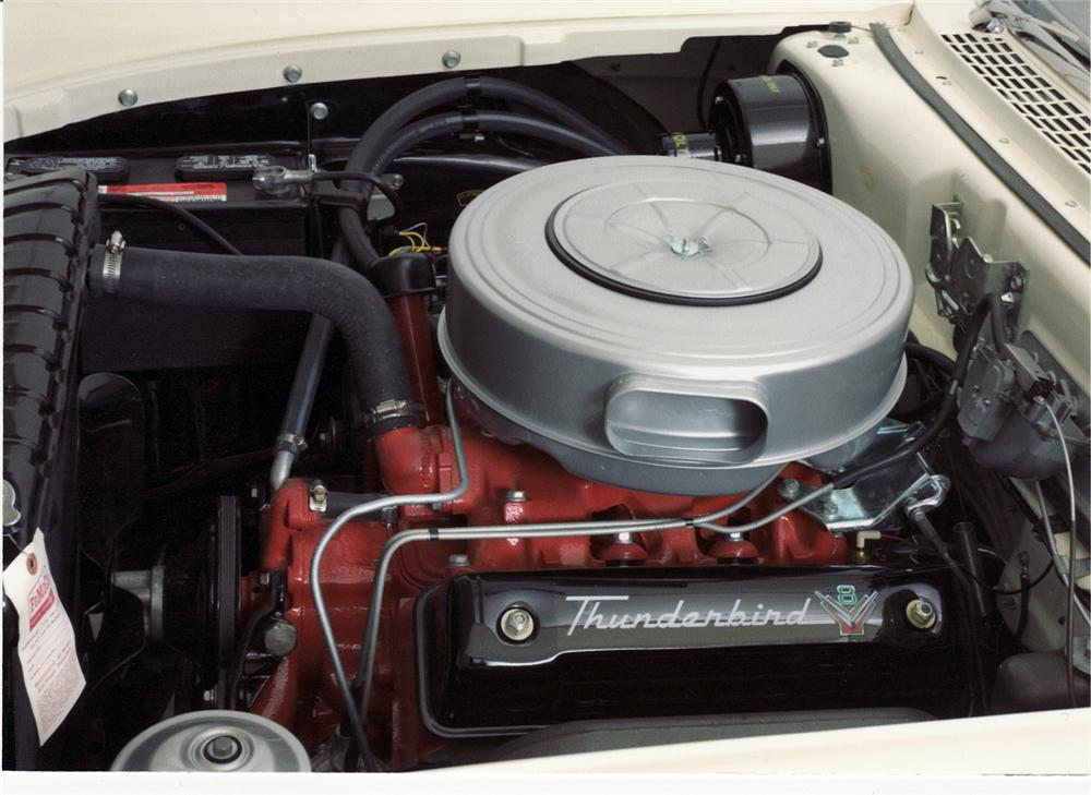 1957 FORD RETRACTABLE - Engine - 43913