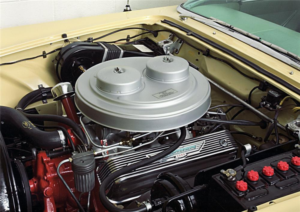 1957 FORD THUNDERBIRD E CONVERTIBLE - Engine - 43916