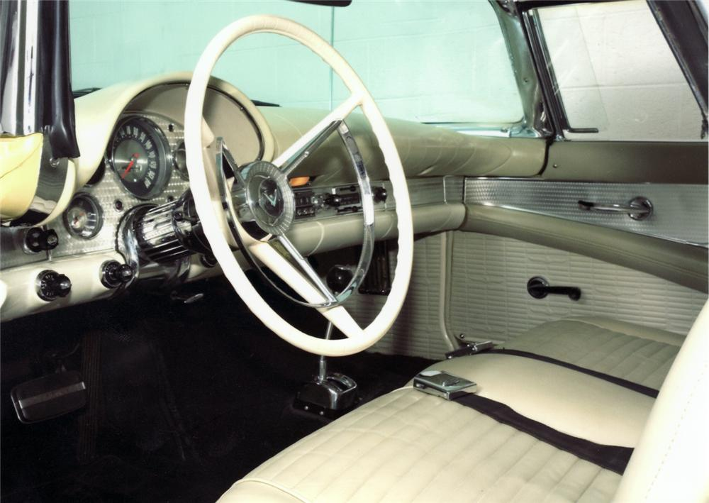 1957 FORD THUNDERBIRD E CONVERTIBLE - Interior - 43916