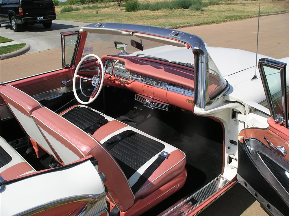 1959 FORD GALAXIE 500 RETRACTABLE - Interior - 43921