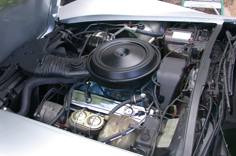 1978 CHEVROLET CORVETTE 25TH ANNIVERSARY COUPE - Engine - 43922