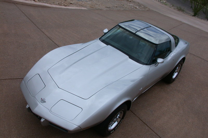 1978 CHEVROLET CORVETTE 25TH ANNIVERSARY COUPE - Front 3/4 - 43922
