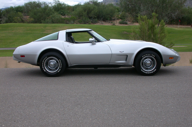 1978 CHEVROLET CORVETTE 25TH ANNIVERSARY COUPE - Side Profile - 43922