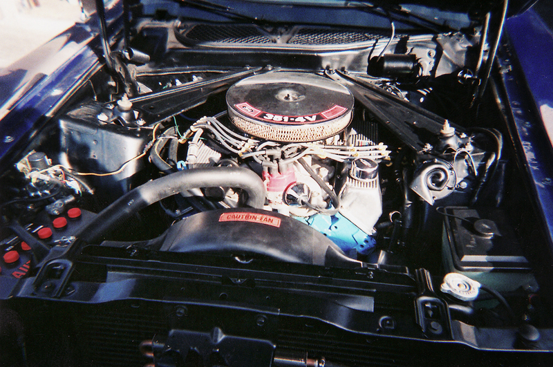 1971 FORD MUSTANG MACH 1 FASTBACK - Engine - 43929