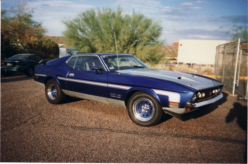 1971 FORD MUSTANG MACH 1 FASTBACK - Front 3/4 - 43929