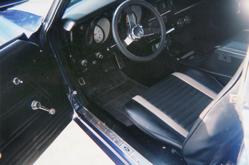 1971 FORD MUSTANG MACH 1 FASTBACK - Interior - 43929