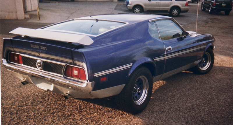 1971 FORD MUSTANG MACH 1 FASTBACK - Rear 3/4 - 43929