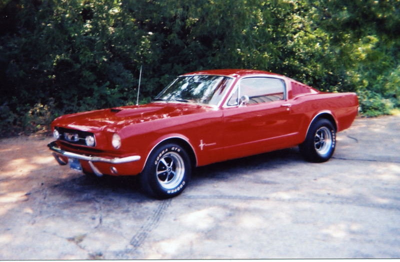 1966 FORD MUSTANG CUSTOM FASTBACK - Front 3/4 - 43943