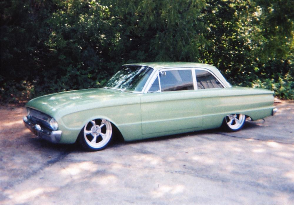 1961 FORD FALCON CUSTOM COUPE - Side Profile - 43944