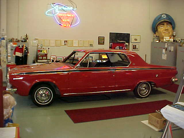 1964 DODGE DART GT 2 DOOR HARDTOP - Side Profile - 43949
