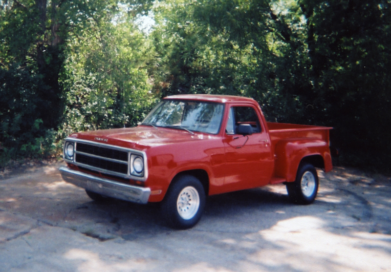 1980 DODGE RAM STEP-SIDE PICKUP - Front 3/4 - 43951