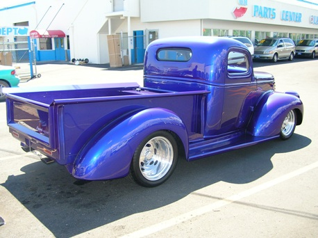 1946 CHEVROLET CUSTOM PICKUP - Rear 3/4 - 43958