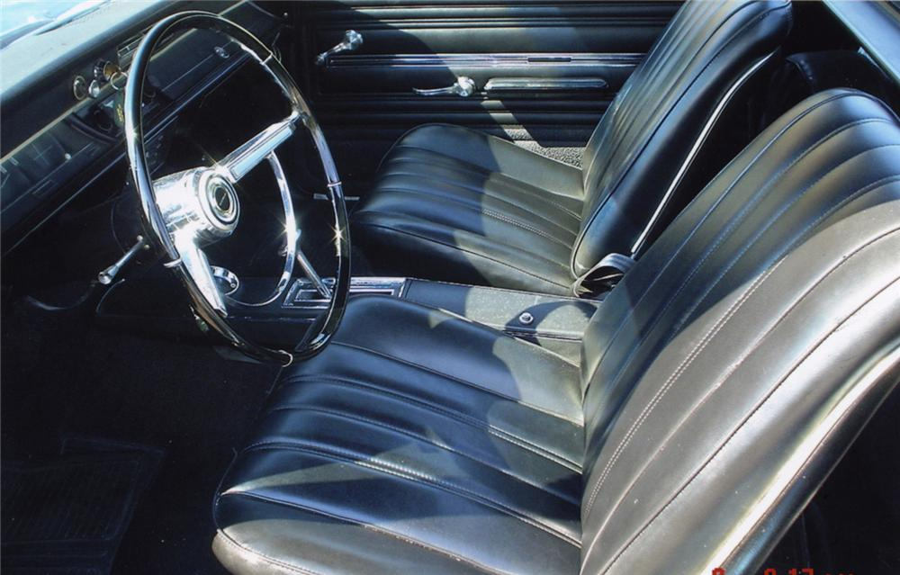 1966 CHEVROLET EL CAMINO PICKUP - Interior - 43965
