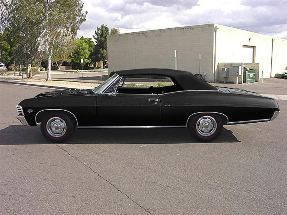 1967 chevrolet impala ss convertible 43967. Black Bedroom Furniture Sets. Home Design Ideas