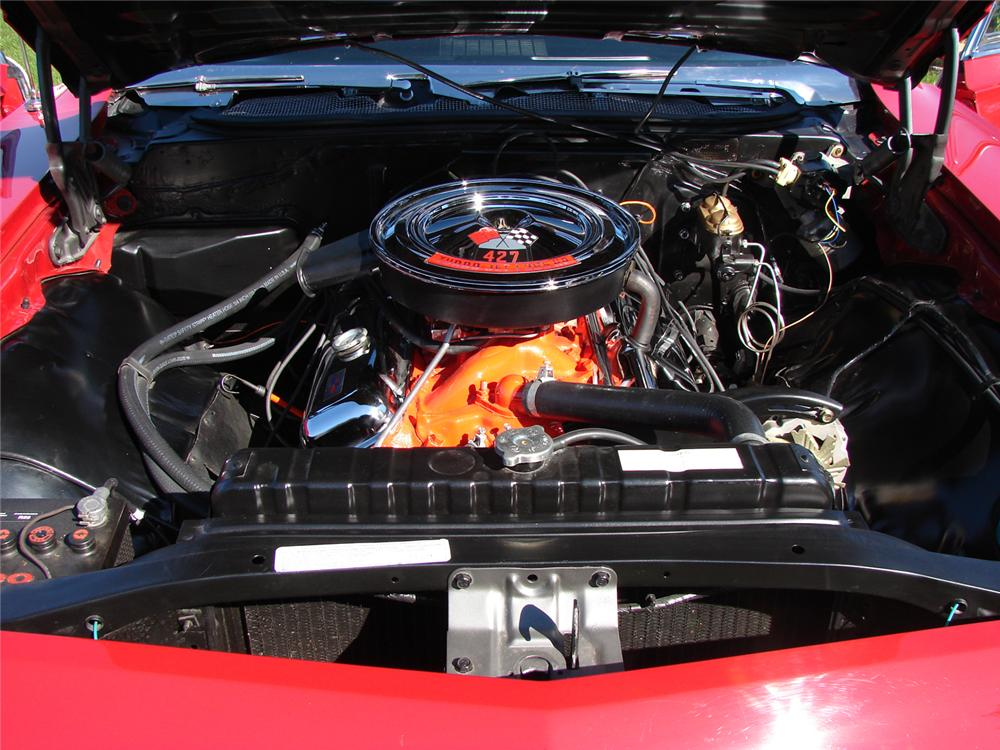 1968 CHEVROLET IMPALA SS CONVERTIBLE - Engine - 43968