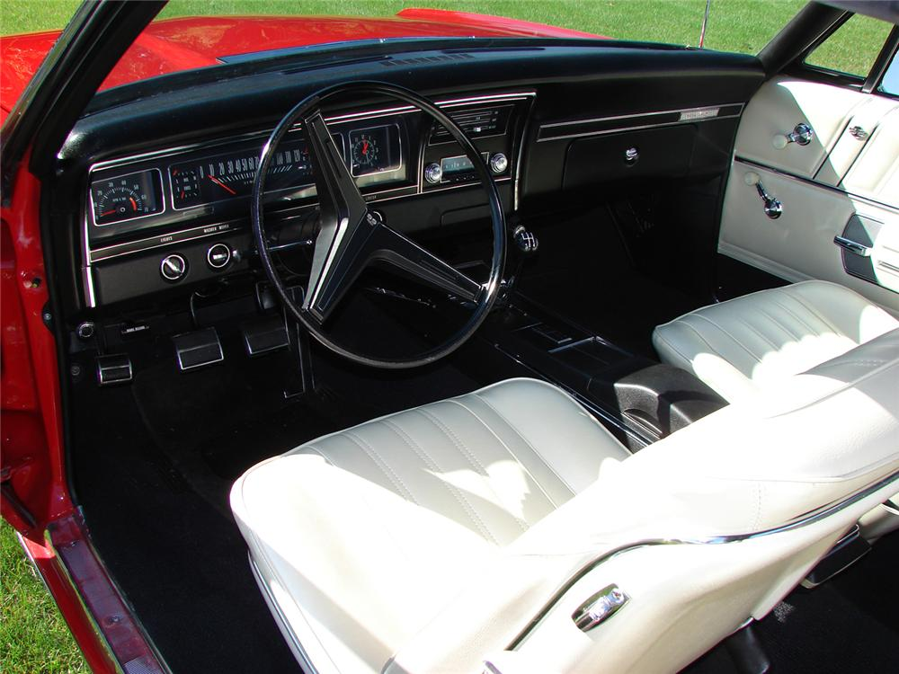 1968 CHEVROLET IMPALA SS CONVERTIBLE - Interior - 43968