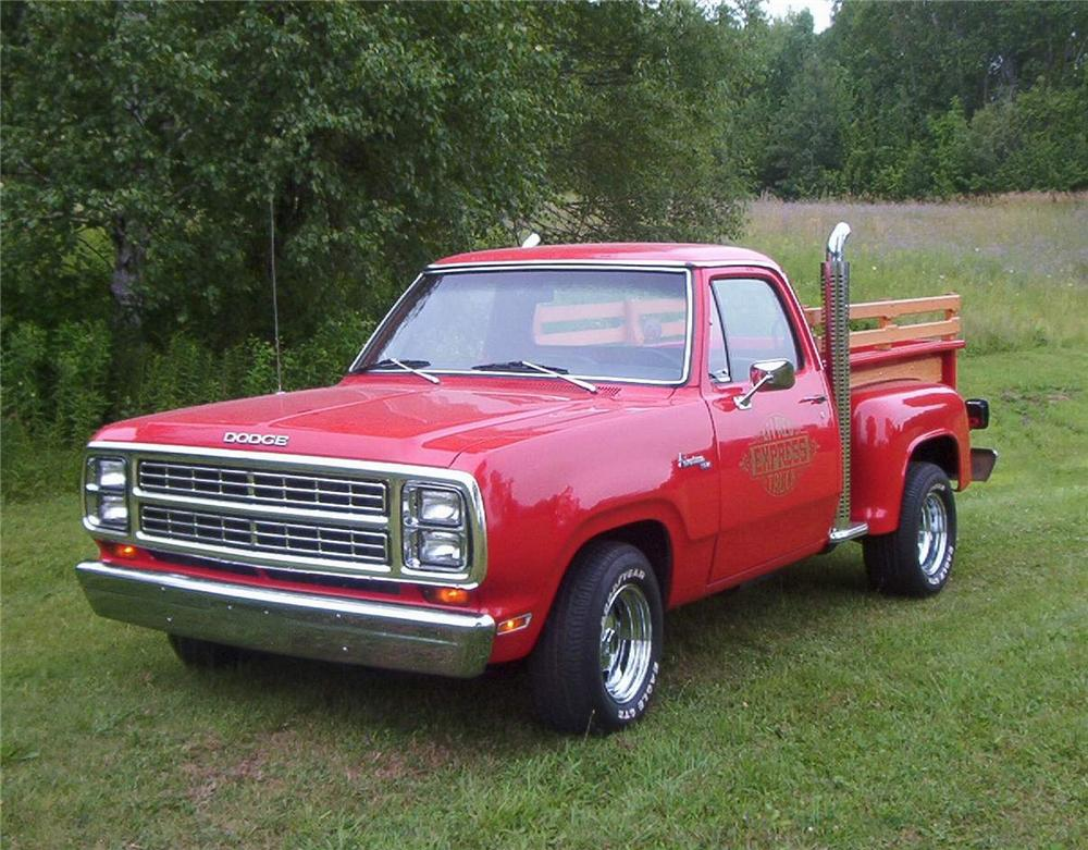 1979 DODGE D-150 ADVENTURER PICKUP - Front 3/4 - 43969