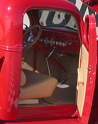 1939 FORD CUSTOM PICKUP - Interior - 43970