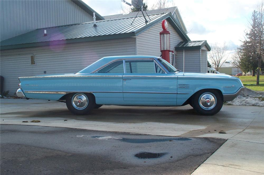 1964 MERCURY MARAUDER FASTBACK - Side Profile - 43986