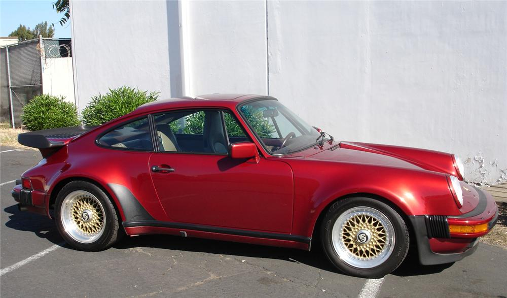 1986 PORSCHE 930 TURBO COUPE - Side Profile - 43994