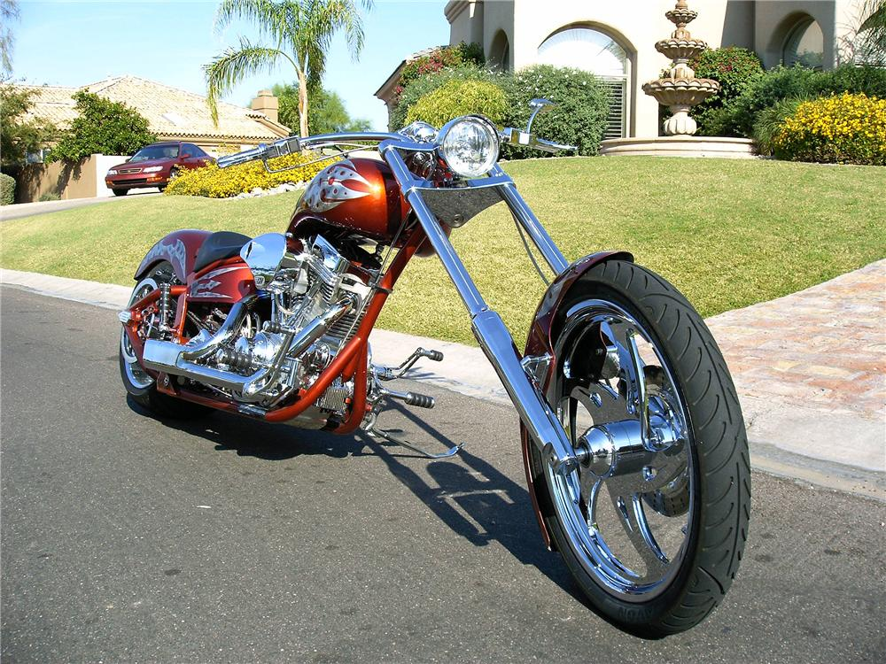 2006 AMP 300 AIR TAIL PRO-CHOPPER - Front 3/4 - 44000