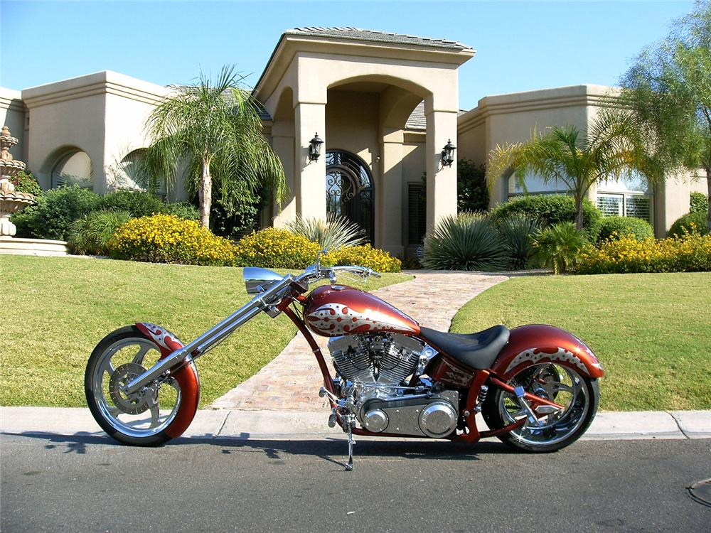 2006 AMP 300 AIR TAIL PRO-CHOPPER - Side Profile - 44000