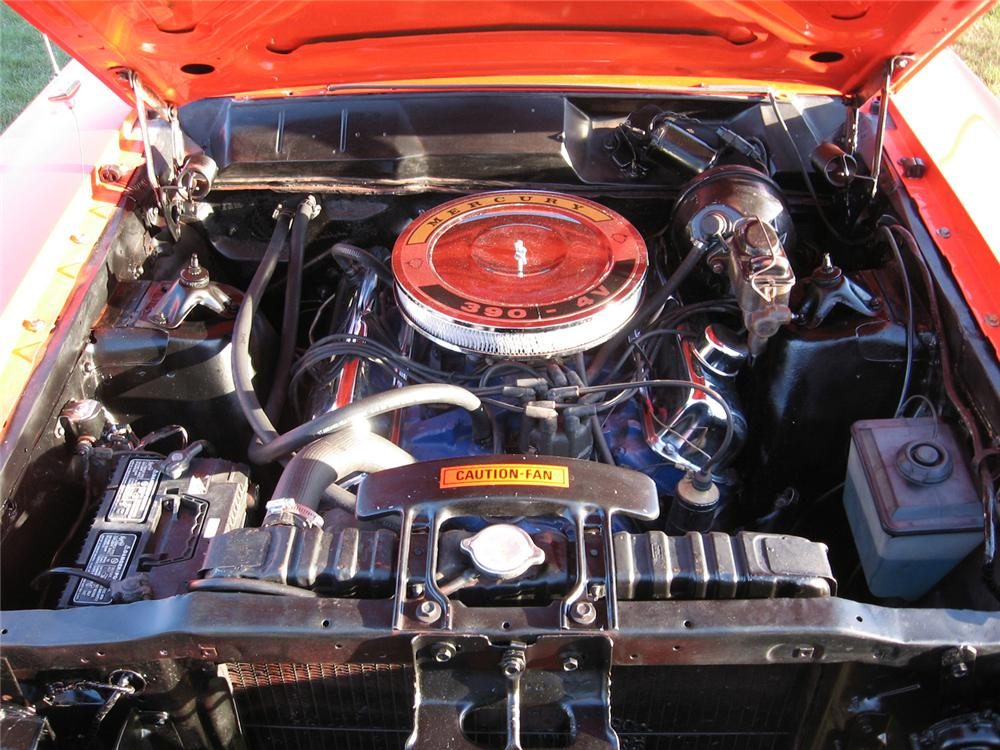 1968 MERCURY CYCLONE GT 2 DOOR HARDTOP - Engine - 44002