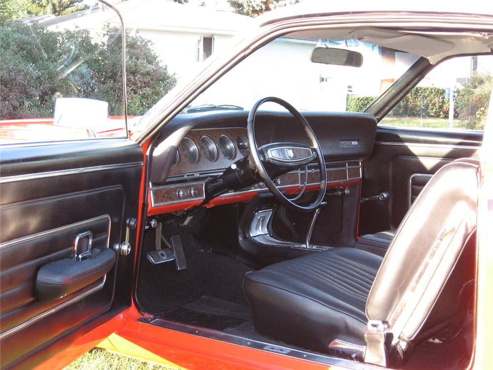 1968 MERCURY CYCLONE GT 2 DOOR HARDTOP - Interior - 44002